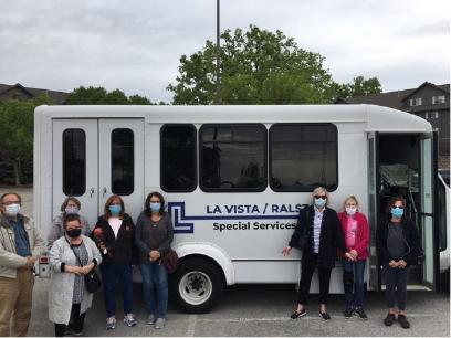 La Vista Special Services Bus